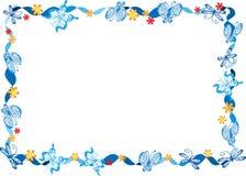 Farfalla con la struttura Immagine Stock