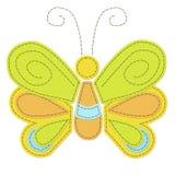 Farfalla cucita Immagine Stock Libera da Diritti