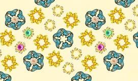 Farfalla d'annata di hippy fotografie stock