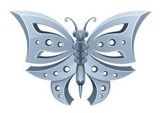 Farfalla d'argento Immagini Stock Libere da Diritti