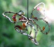 Farfalla del ferro Immagini Stock Libere da Diritti