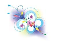 Farfalla del fiore Fotografia Stock
