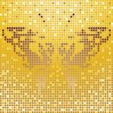 Farfalla del mosaico Fotografia Stock Libera da Diritti