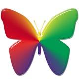 Farfalla del Rainbow Fotografia Stock Libera da Diritti