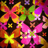 Farfalla d'annata Fotografia Stock