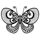 Farfalla dell'insetto Fotografie Stock Libere da Diritti
