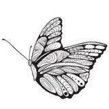 Farfalla di arte di zen Fotografia Stock