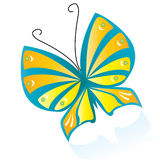 Farfalla di Colorfull Immagine Stock