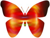 Farfalla di Electirc illustrazione vettoriale