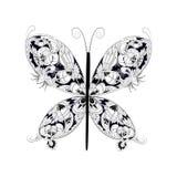 Farfalla di fantasia Immagini Stock