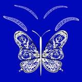 Farfalla di fantasia Immagine Stock Libera da Diritti