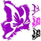 Farfalla di Gunge Fotografie Stock