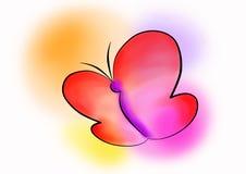 Farfalla di pace Fotografie Stock