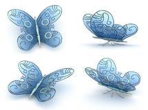 Farfalla di Steampunk Fotografia Stock