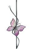 Farfalla di vetro Fotografia Stock Libera da Diritti