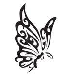 Farfalla di vettore Fotografie Stock