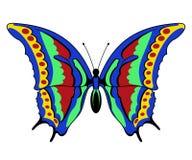 Farfalla di vettore Immagini Stock