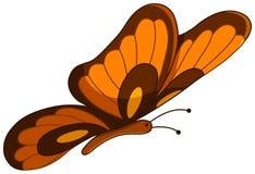 Farfalla di vettore Fotografia Stock