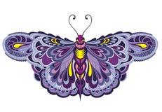 Farfalla di volo immagine stock