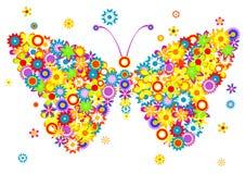 Farfalla graziosa Immagini Stock Libere da Diritti