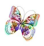 Farfalla isolata vettore ENV 10 Fotografia Stock Libera da Diritti