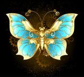 Farfalla meccanica Fotografia Stock