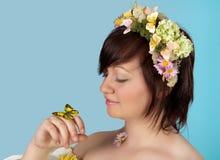Farfalla nello sprintime Fotografia Stock Libera da Diritti