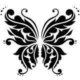 Farfalla ornamentale di vettore Fotografie Stock Libere da Diritti