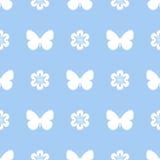 Farfalla senza cuciture colorata del modello Fotografie Stock