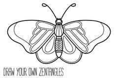 Farfalla sveglia Immagini Stock Libere da Diritti