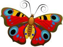 Farfalla variopinta Fotografia Stock Libera da Diritti