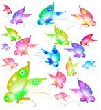 Farfalla variopinta illustrazione di stock