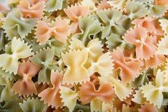 farfalle ζυμαρικά Στοκ Φωτογραφία