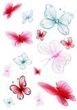 Farfalle Fotografia Stock
