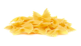 Farfalle bows italian pasta Stock Images