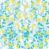 Farfalle con le piante isolate su fondo bianco Illustrazione di vettore Fotografia Stock