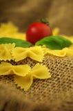 Farfalle de las pastas de Italien Fotografía de archivo libre de regalías