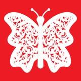 Farfalle di ÑŒcutout del 'del ‡ Ð°Ñ di ПÐ?Ñ per il taglio del laser Siluette delle farfalle decorazione Illustrazione di vettore illustrazione di stock