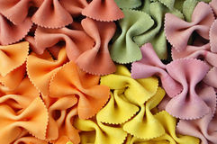 Farfalle flavors Royalty Free Stock Images