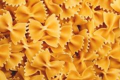 Farfalle italian pasta Stock Photography