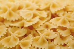Farfalle italiano della pasta Fotografie Stock Libere da Diritti