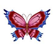 Farfalle luminose variopinte di vettore Immagini Stock Libere da Diritti