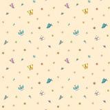Farfalle multicolori su pallido - fondo rosa Fotografia Stock