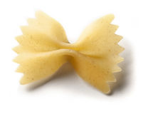 Farfalle noodle Royalty Free Stock Images