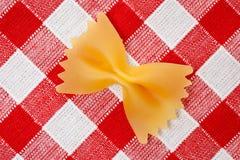 Farfalle pasta Stock Photo
