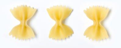 Farfalle pasta Royalty Free Stock Image