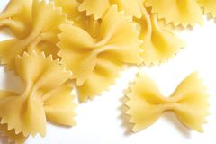 Farfalle Pasta Stock Photos