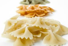Farfalle pasta Royalty Free Stock Photo
