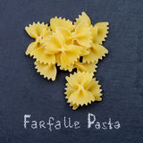 Farfalle Pasta Stock Photography