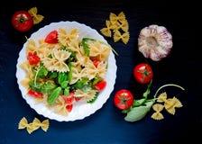 Farfalle pasta Stock Image
